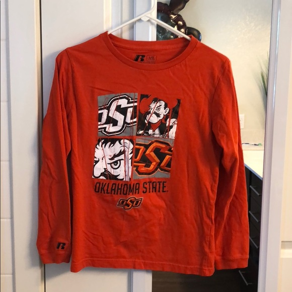 new concept 0ee13 44b10 Girls Oklahoma State Cowboys Shirt